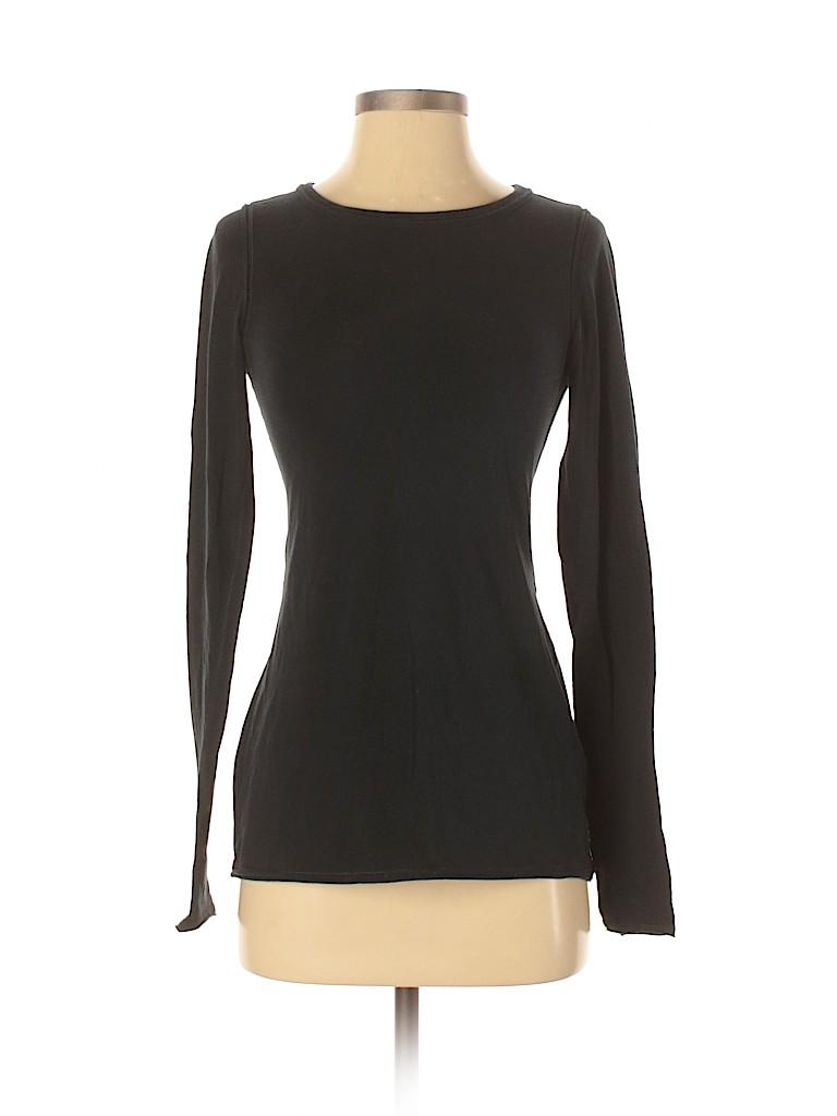 Nancy Rose Performance Women Long Sleeve T-Shirt Size 4