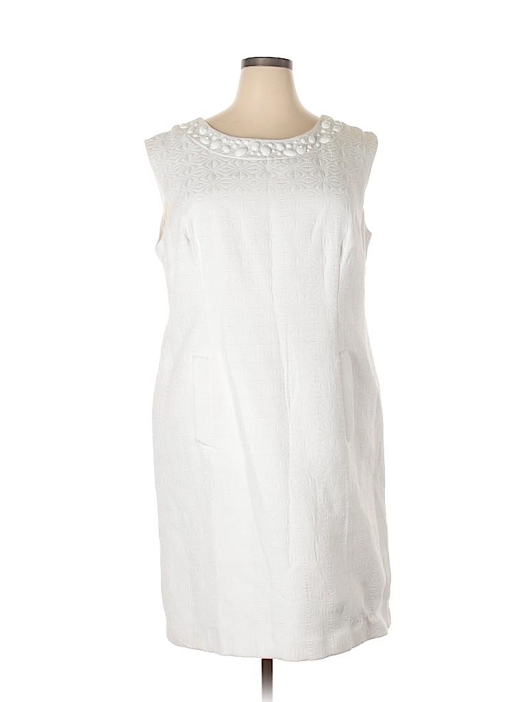 Sandra Darren Women Cocktail Dress Size 18 (Plus)