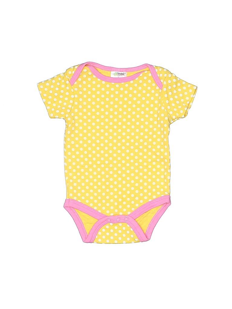 Assorted Brands Girls Short Sleeve Onesie Size 3-6 mo