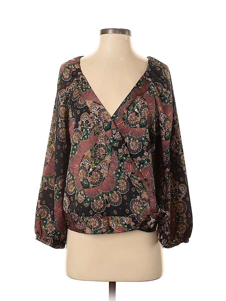Point Sur Women Long Sleeve Blouse Size S