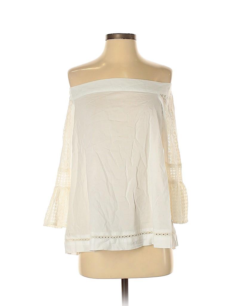 Ann Taylor LOFT Women 3/4 Sleeve Blouse Size S