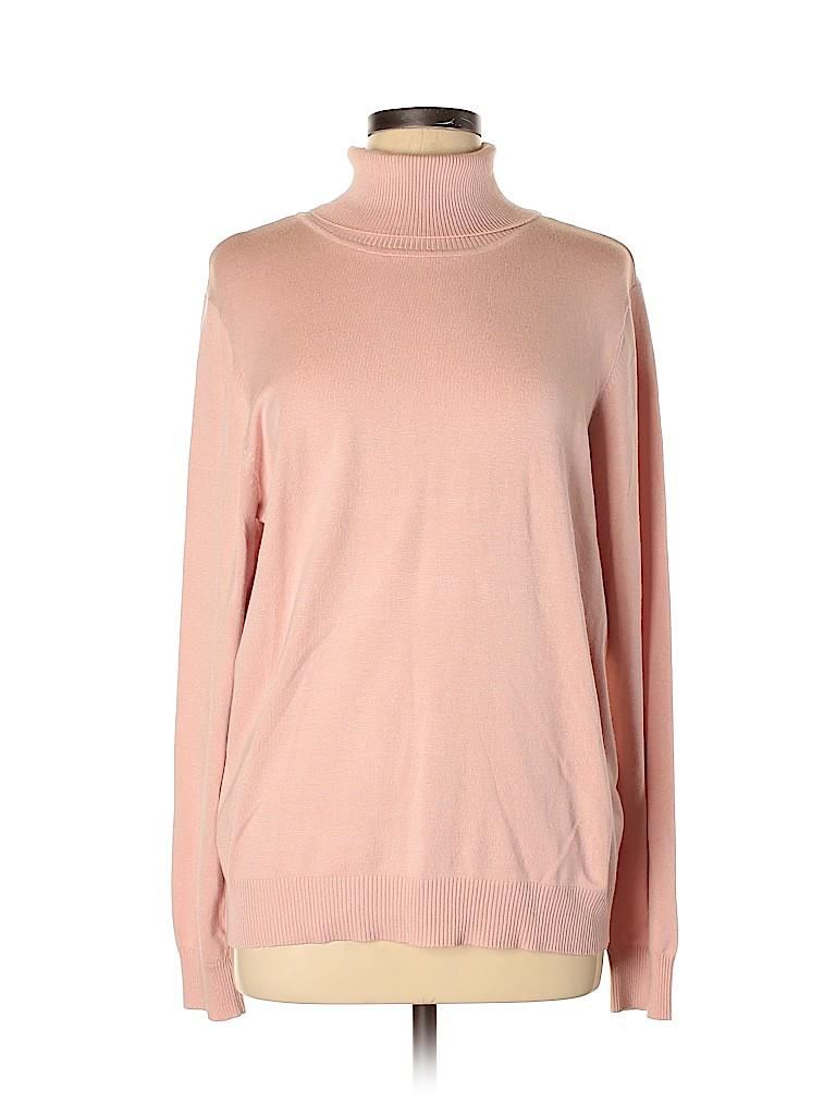 Andrew Marc for Walmart Women Turtleneck Sweater Size XL