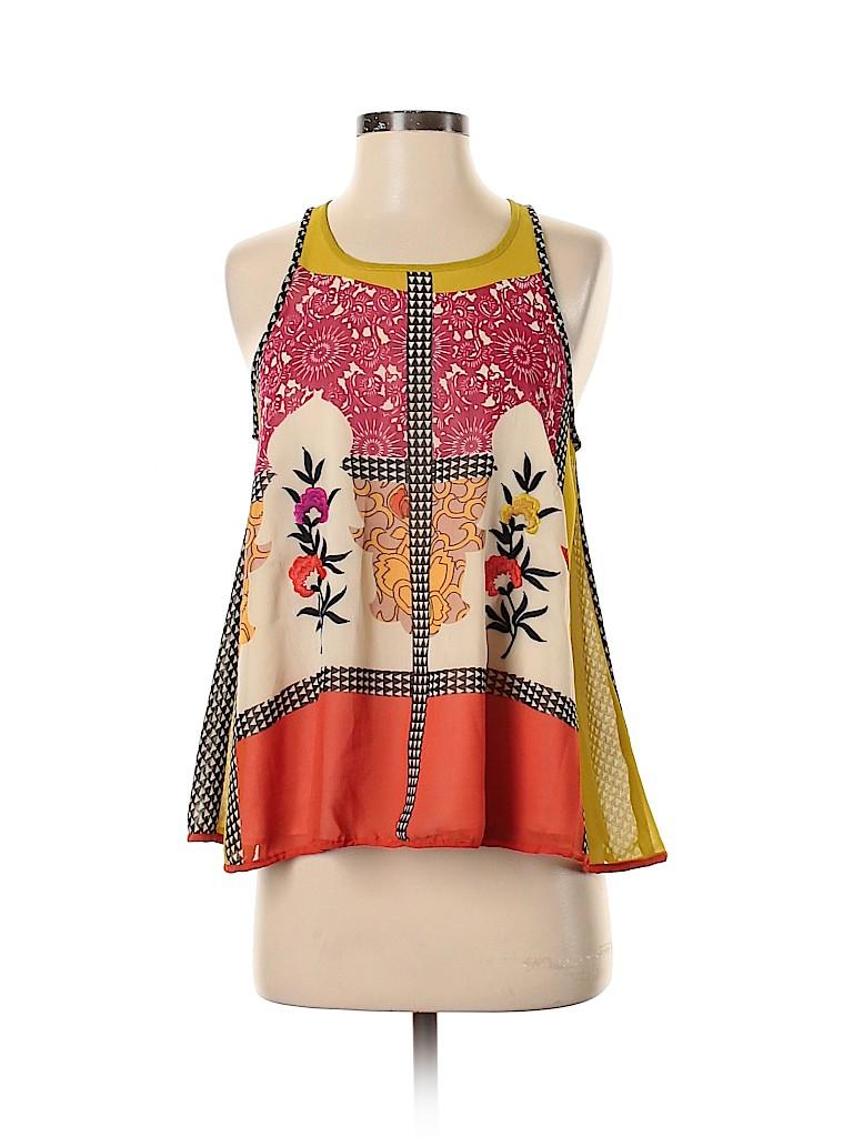 Vineet Bahl Women Sleeveless Blouse Size S
