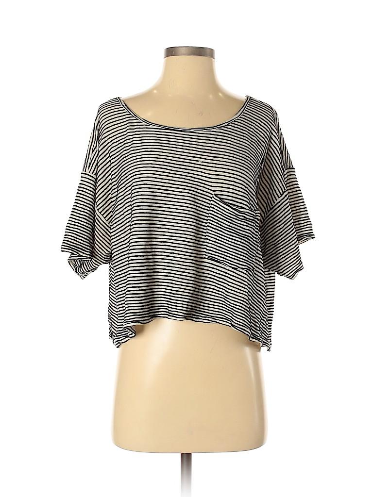 American Apparel Women Short Sleeve Top One Size