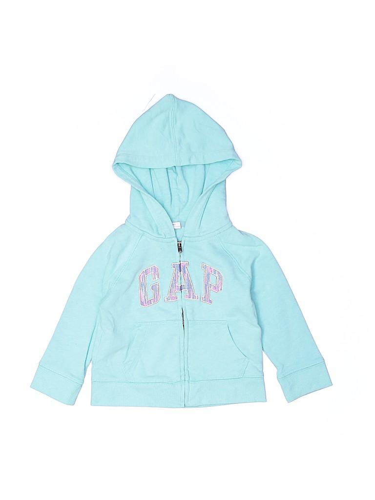 Baby Gap Girls Zip Up Hoodie Size 12-18 mo
