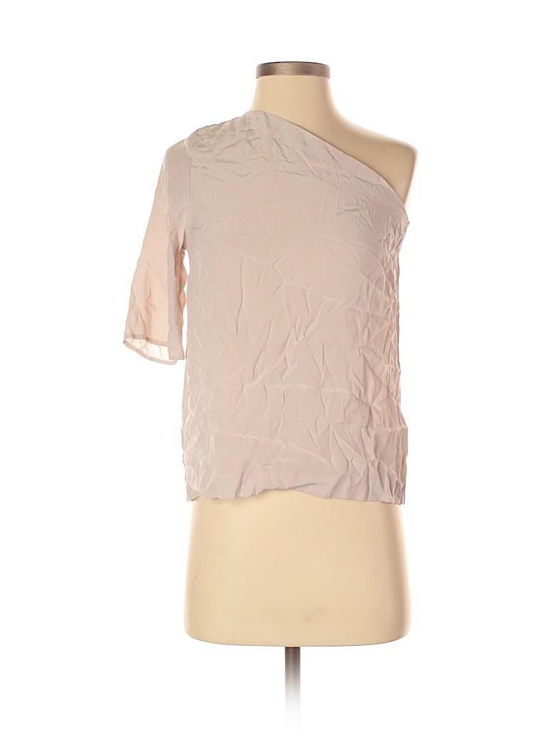 H&M Women Short Sleeve Blouse Size 2