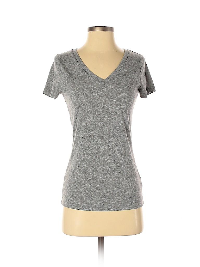 Mossimo Supply Co. Women Short Sleeve T-Shirt Size XS