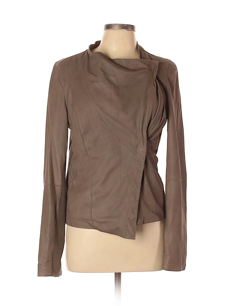 Vince. Women Leather Jacket Size L