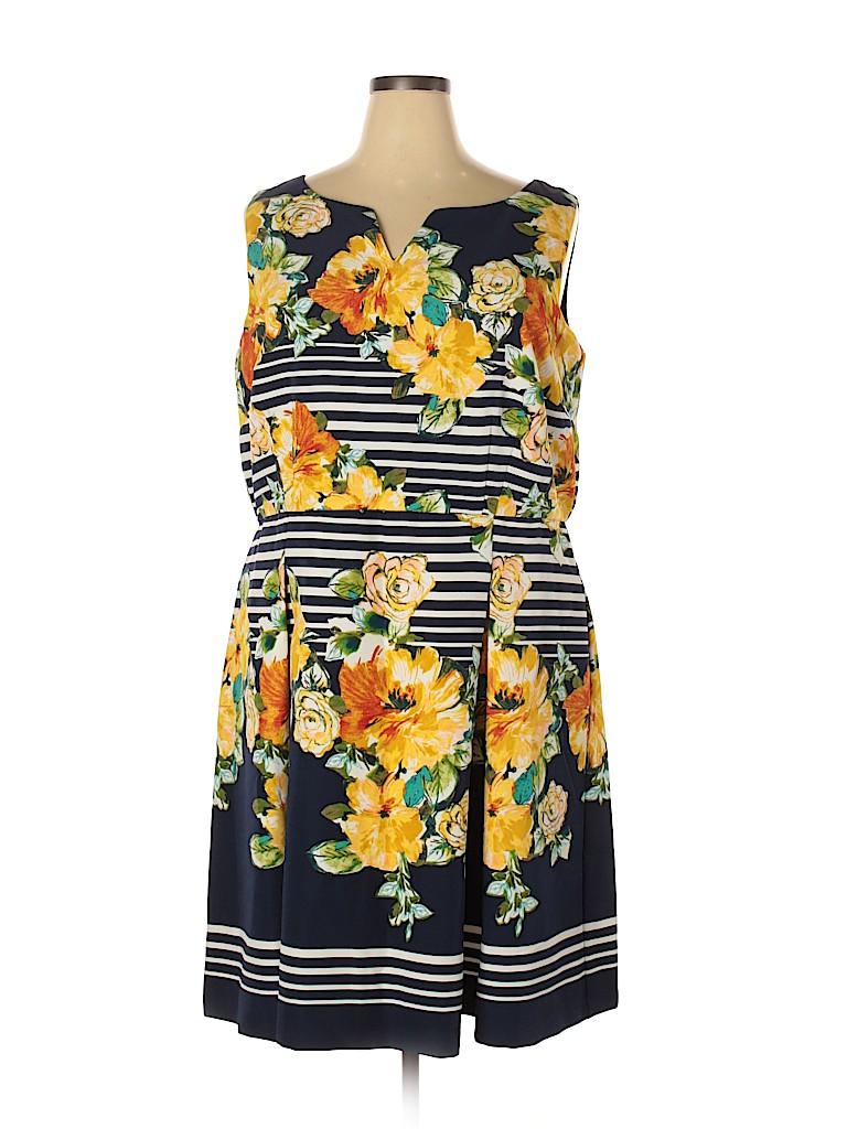 DressBarn Women Casual Dress Size 22w (Plus)