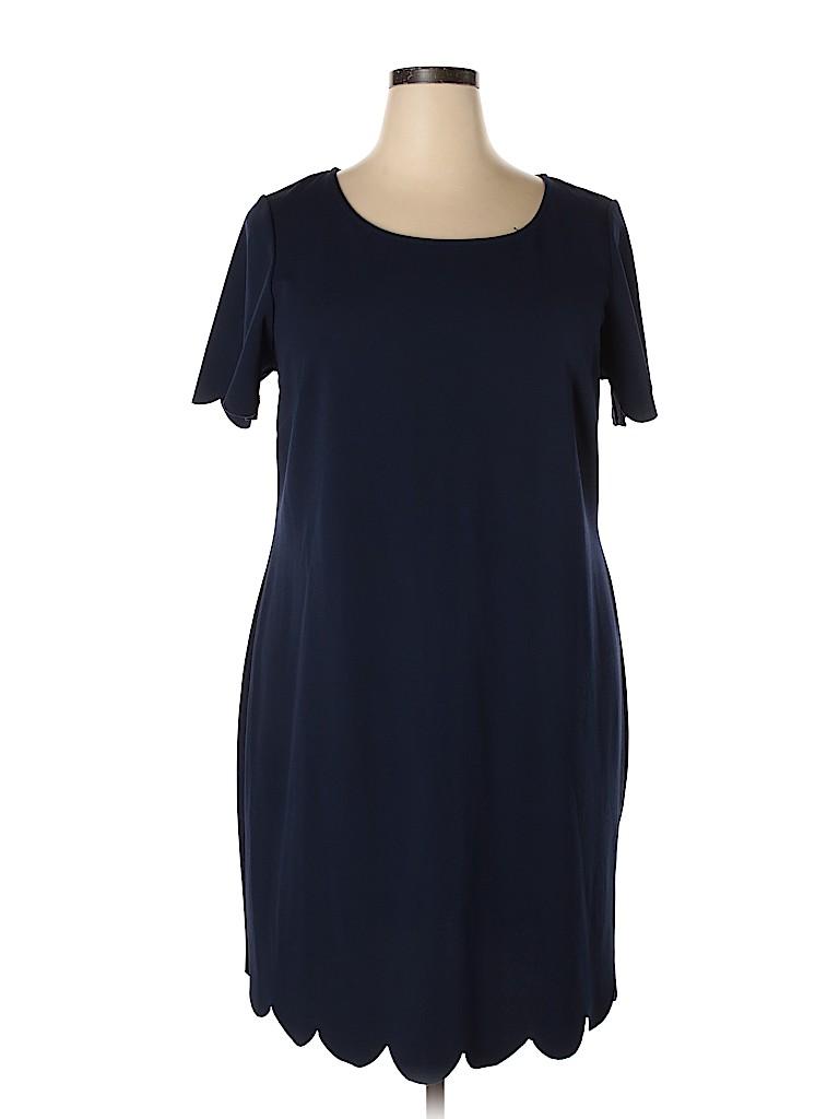 Tiana B. Women Casual Dress Size 18 (Plus)