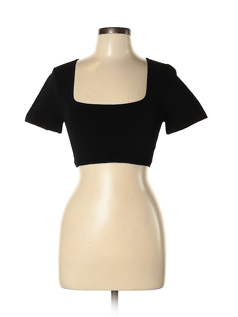 Alexander Wang Women Short Sleeve Top Size L