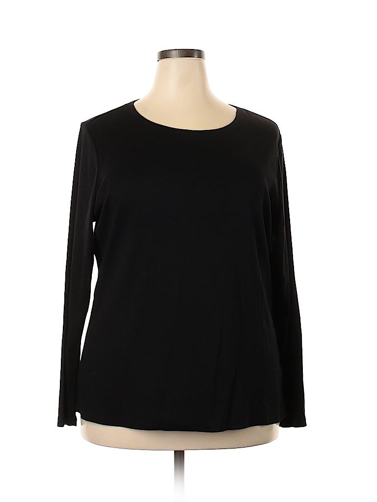 Lane Bryant Women Long Sleeve T-Shirt Size 18 - 20 Plus (Plus)