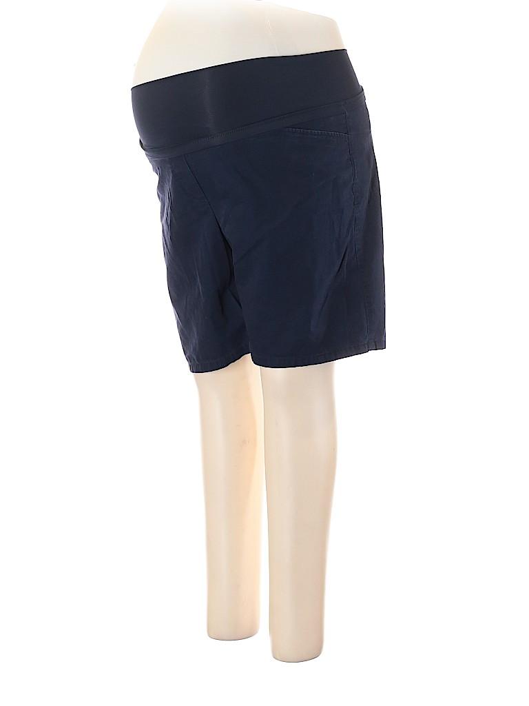 Gap - Maternity Women Khaki Shorts Size 14 (Maternity)