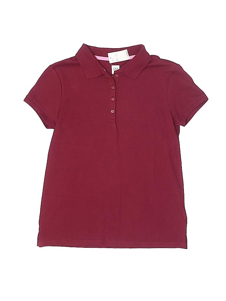 Gap Kids Girls Short Sleeve Polo Size 2X-large (Kids)
