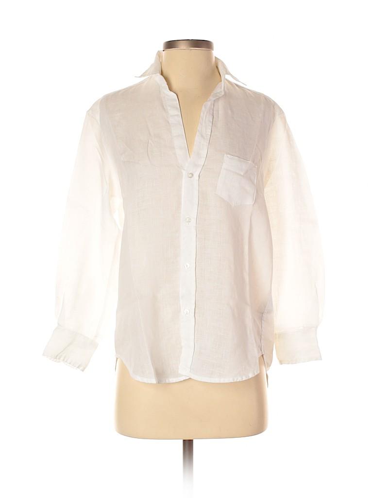 Frank & Eileen Women Long Sleeve Button-Down Shirt Size XXS