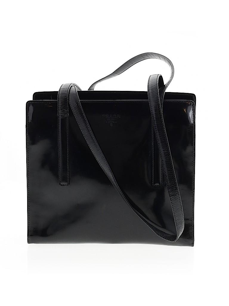 Prada Women Leather Tote One Size