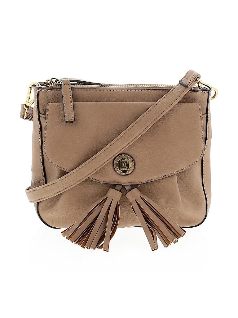 Liz Claiborne Women Leather Crossbody Bag One Size