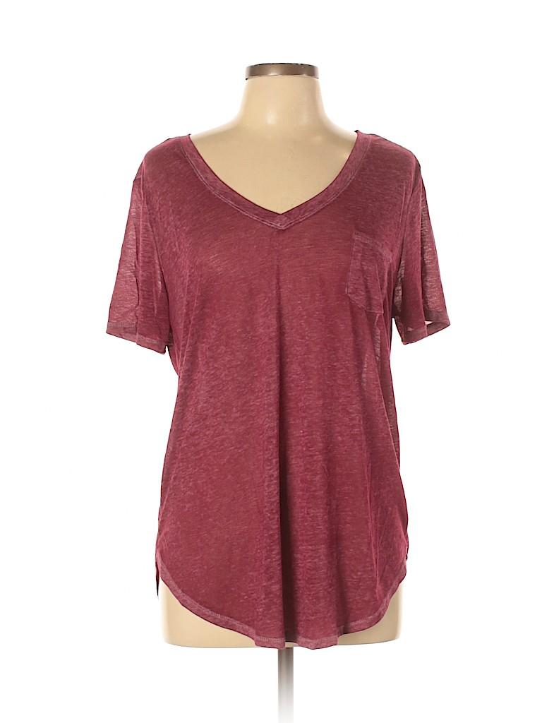 No Boundaries Women Short Sleeve T-Shirt Size XL