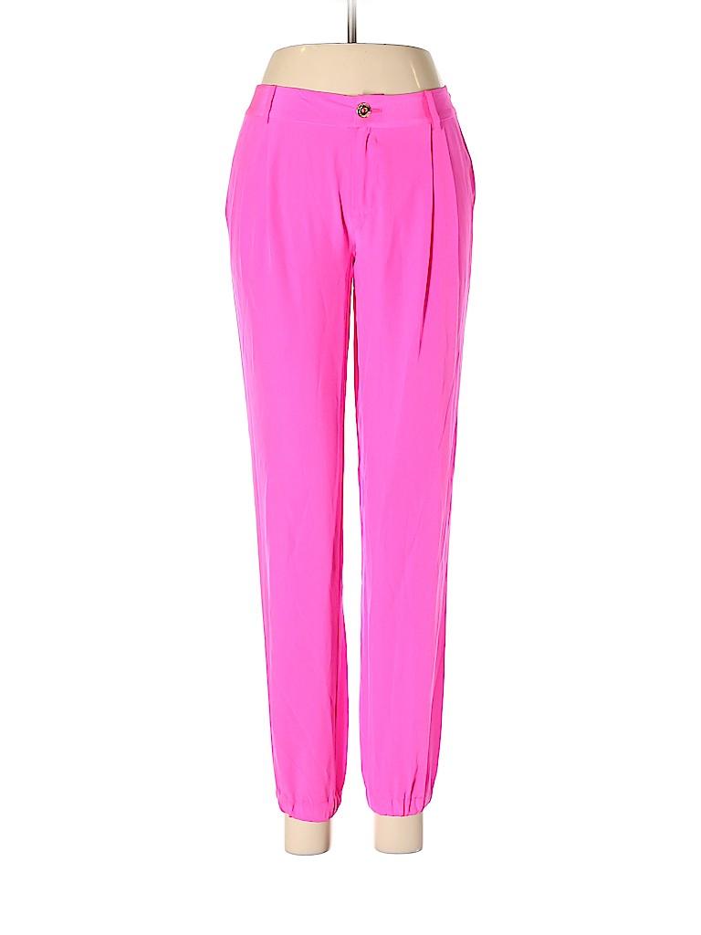 Lilly Pulitzer Women Silk Pants Size 00