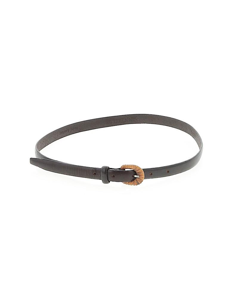Ann Taylor Women Leather Belt Size XS