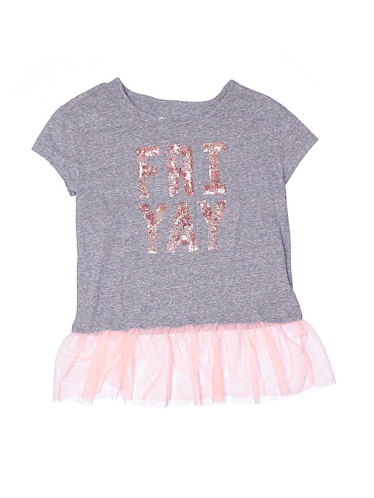 Epic Threads Girls Short Sleeve Top Size L (Kids)