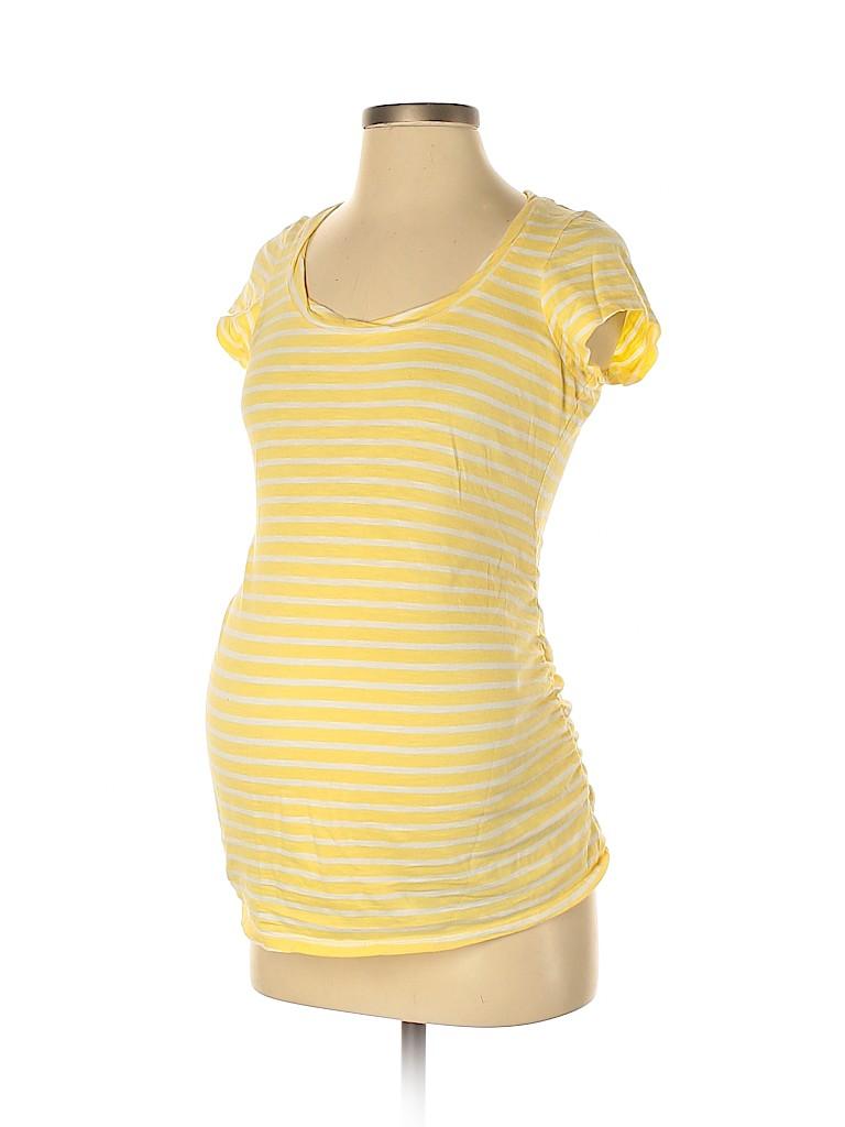 Old Navy - Maternity Women Short Sleeve T-Shirt Size XS (Maternity)
