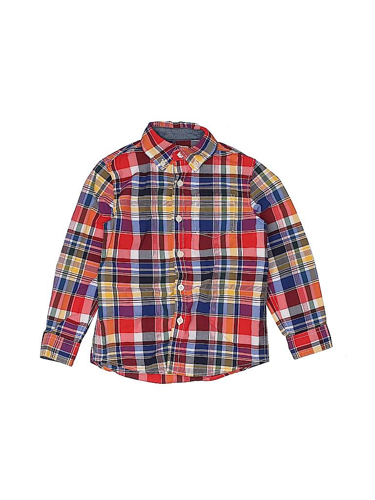 Gymboree Boys Long Sleeve Button-Down Shirt Size 4T