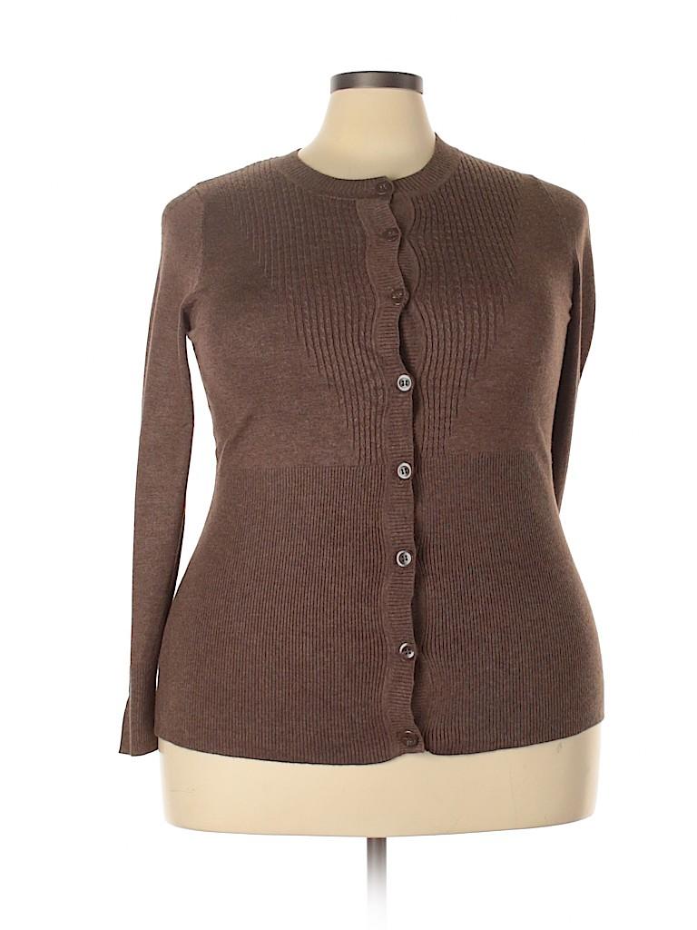 Lane Bryant Women Cardigan Size 18 - 20 Plus (Plus)