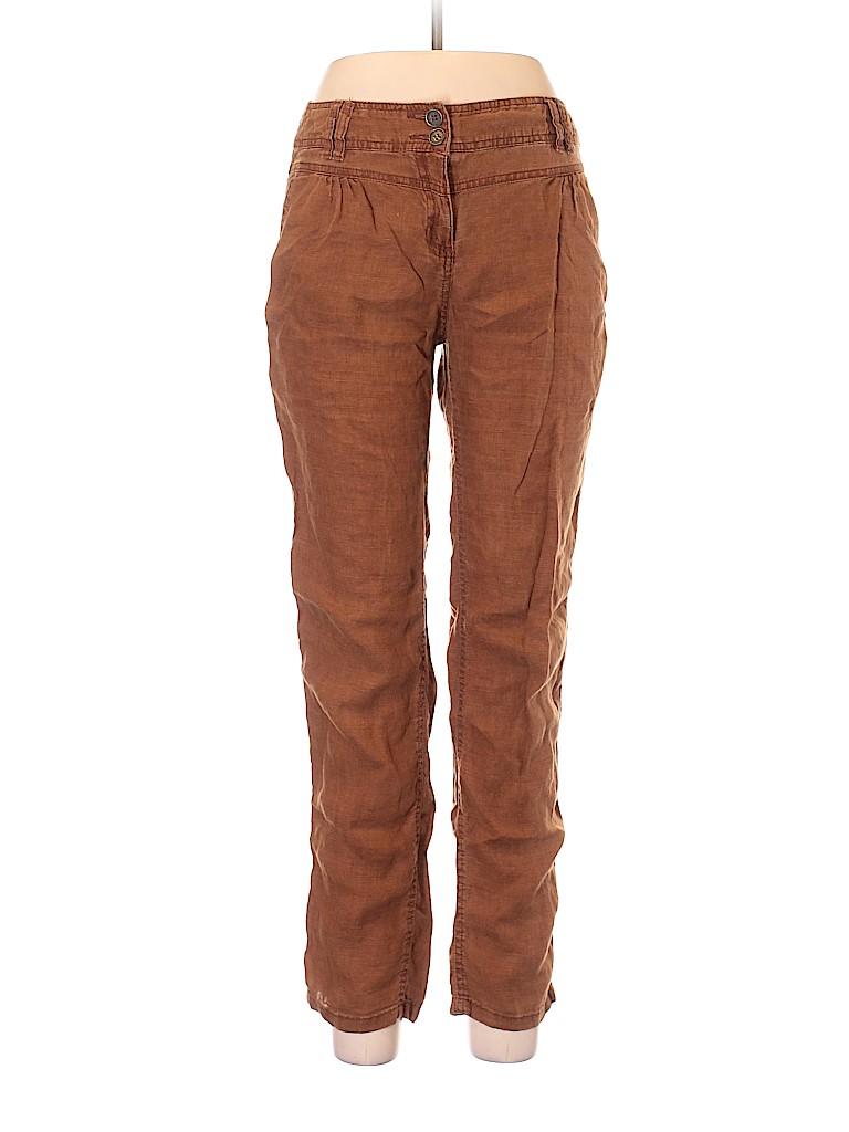 Promod Women Linen Pants Size 38 (EU)