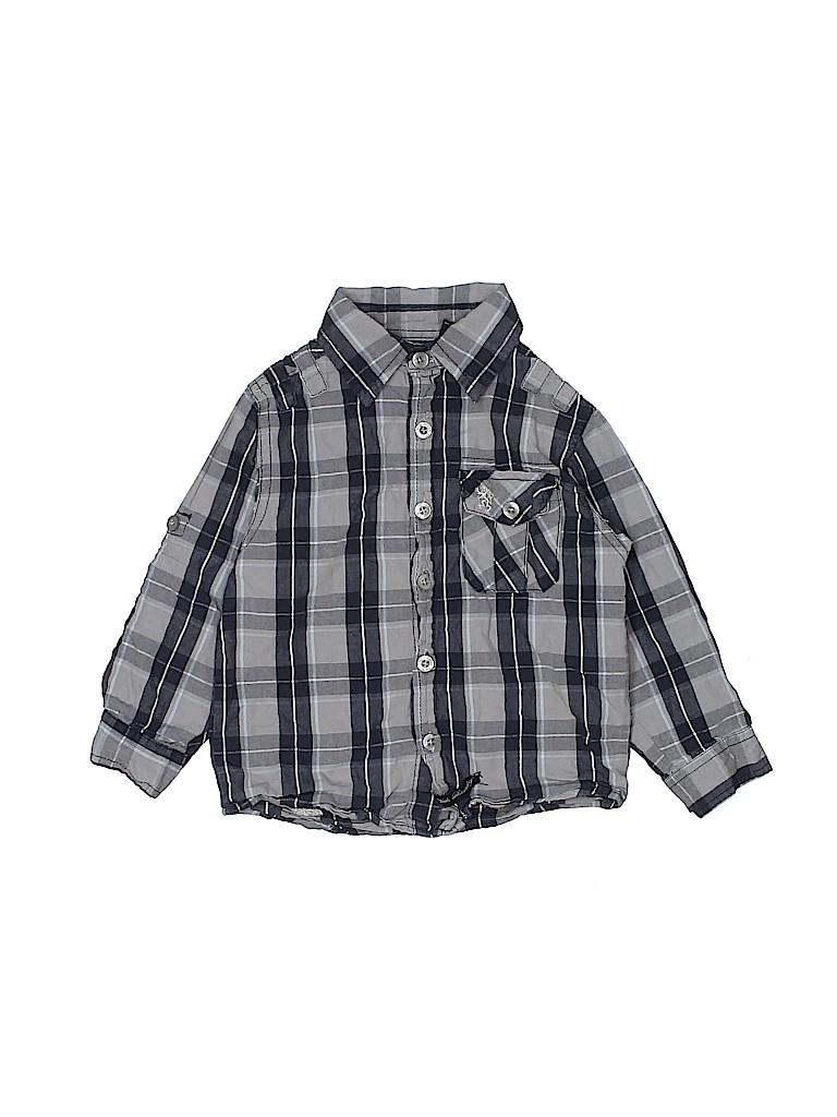 English Laundry Boys Long Sleeve Button-Down Shirt Size 3T