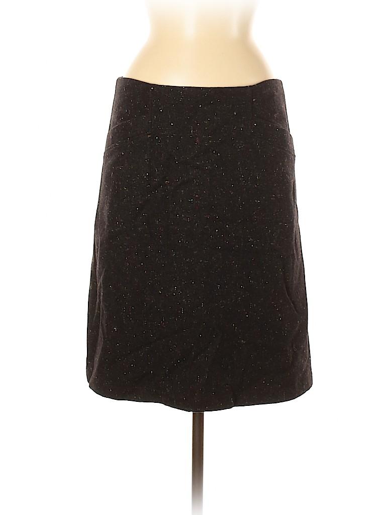 Theory Women Wool Skirt Size 8
