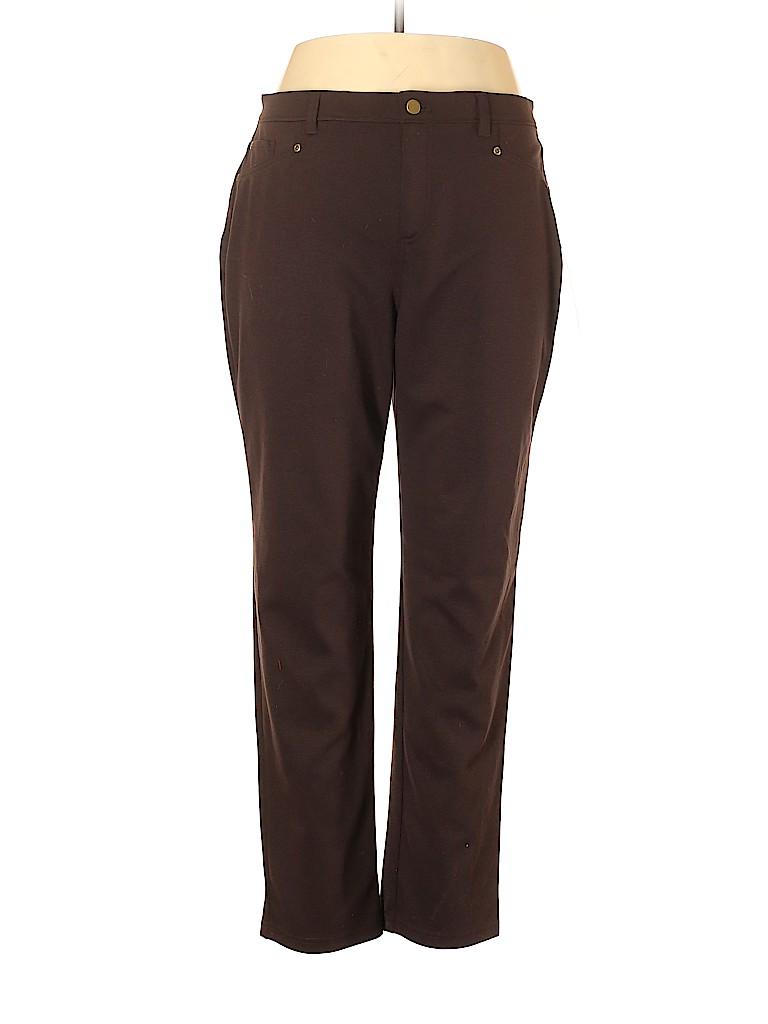 JM Collection Women Leggings Size 16