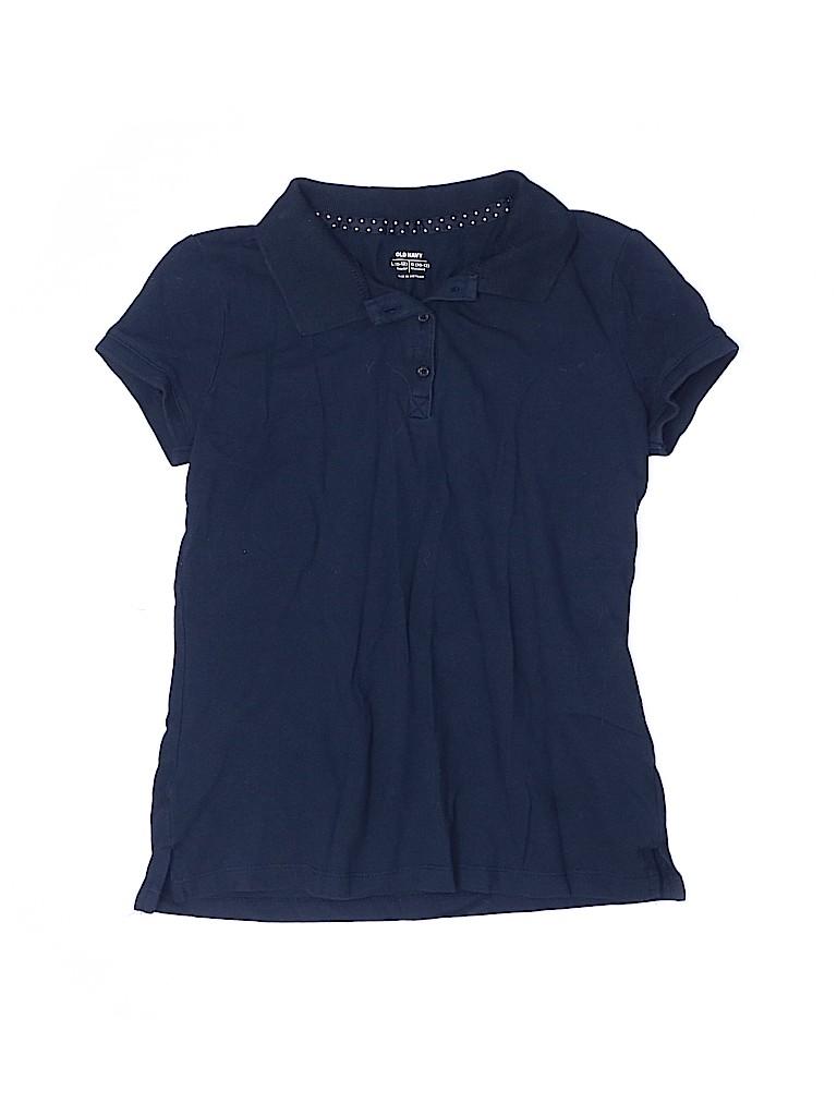 Old Navy Girls Short Sleeve Polo Size L (Kids)