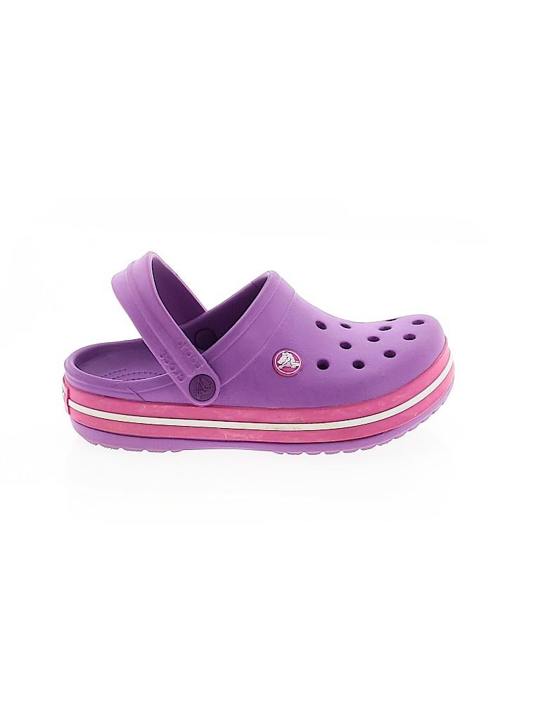 Crocs Girls Clogs Size 1