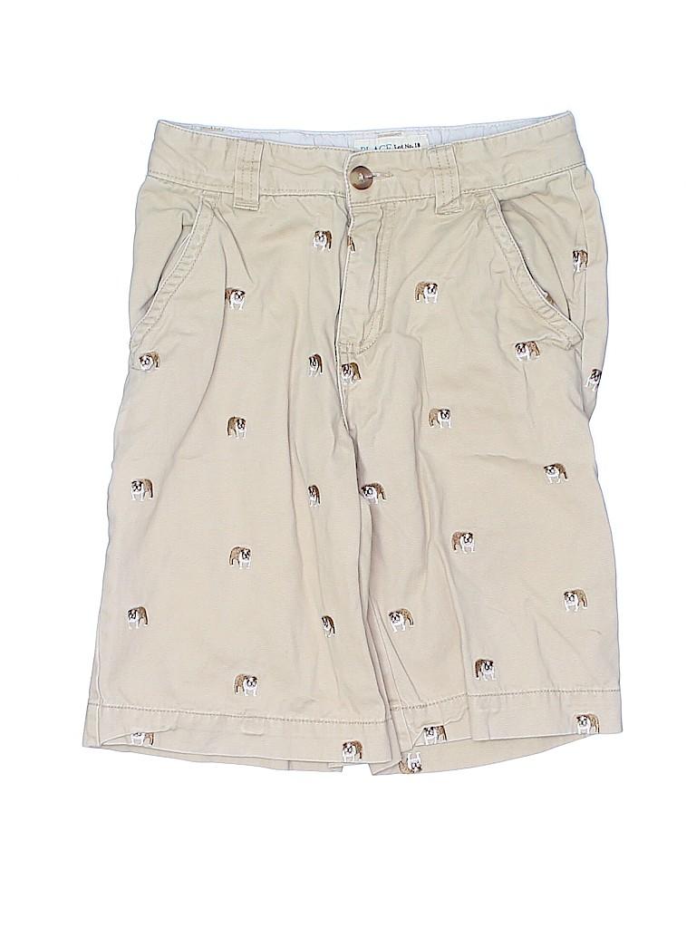 The Children's Place Boys Khaki Shorts Size 8