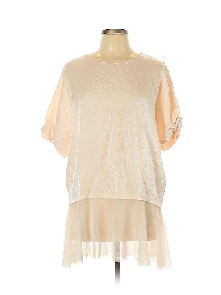 Zara Women Short Sleeve Blouse Size M
