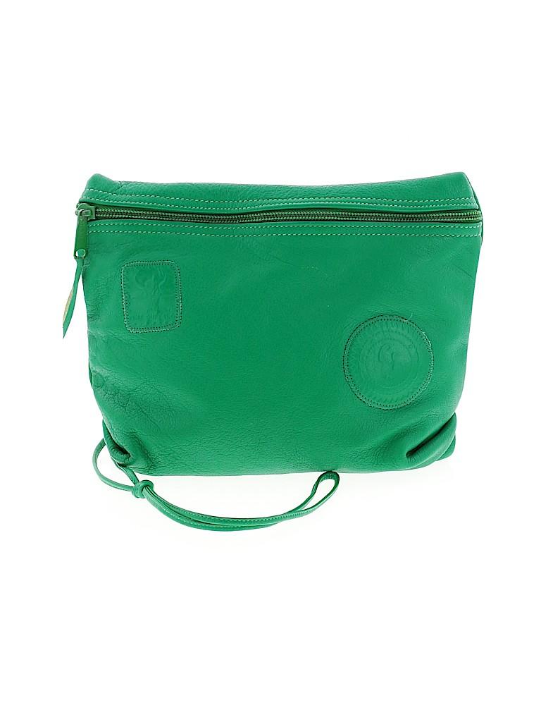 Carlos Falchi Women Leather Crossbody Bag One Size