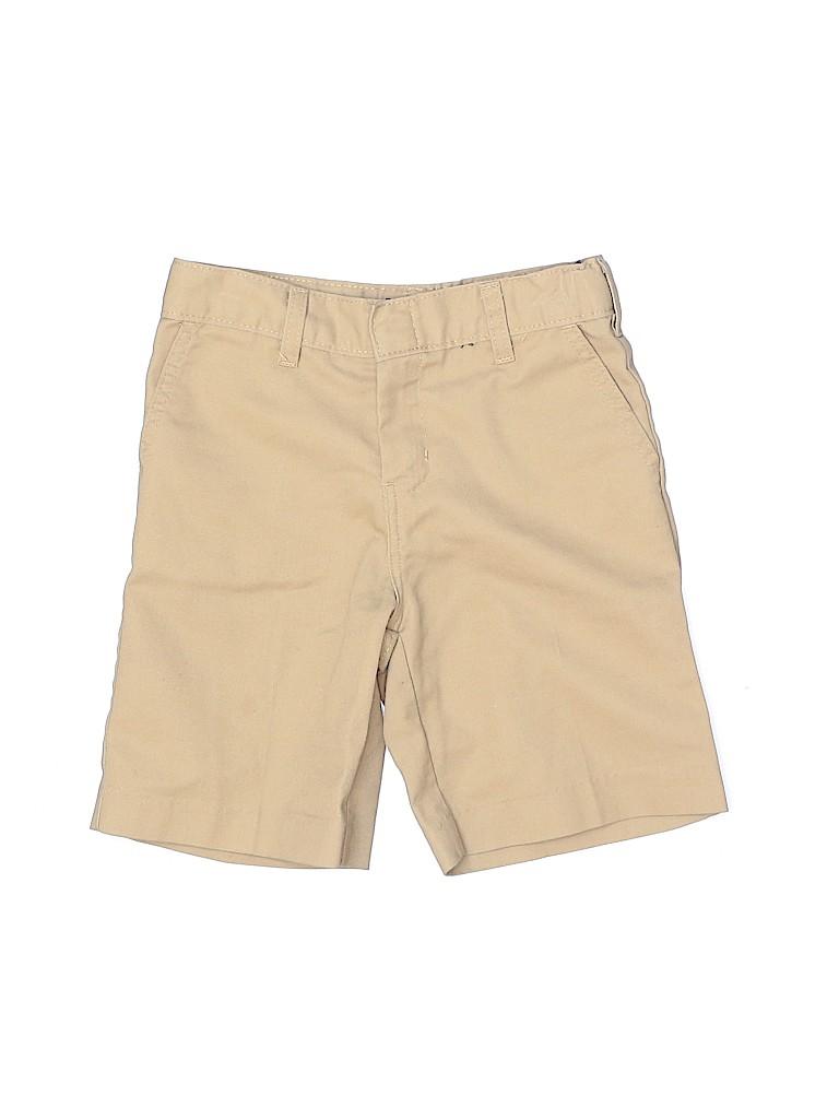 Dickies Boys Khaki Shorts Size 7