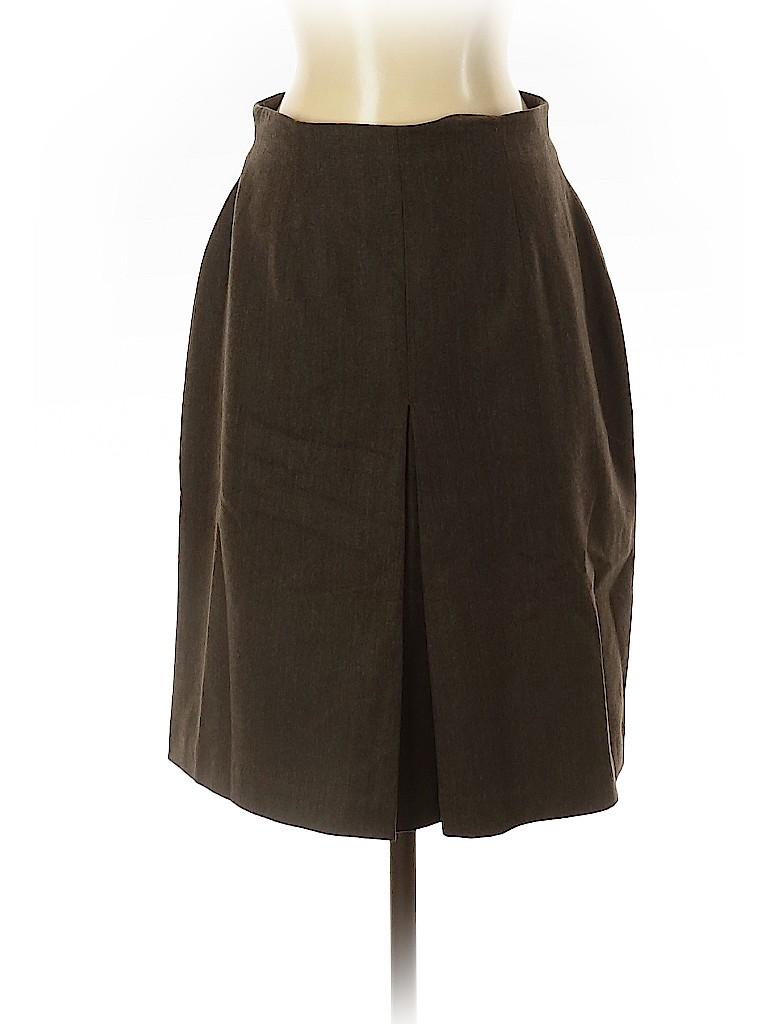 Valerie Stevens Women Wool Skirt Size 4