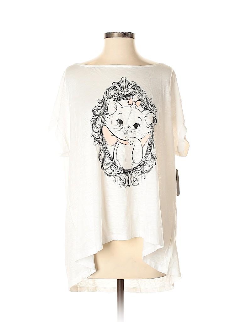 Disney Women Short Sleeve T-Shirt Size 1