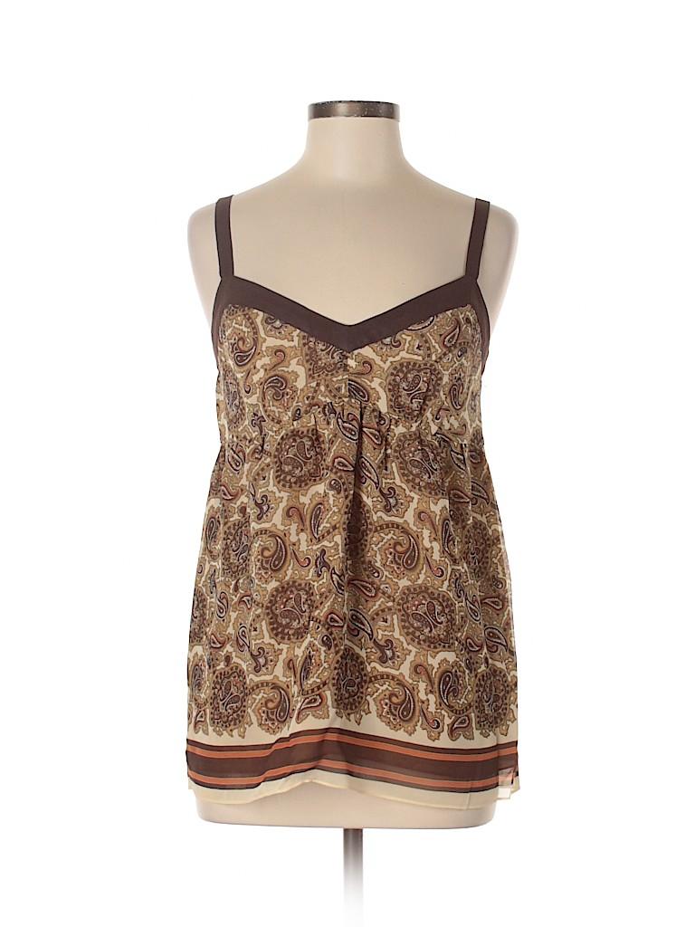 MICHAEL Michael Kors Women Sleeveless Silk Top Size M