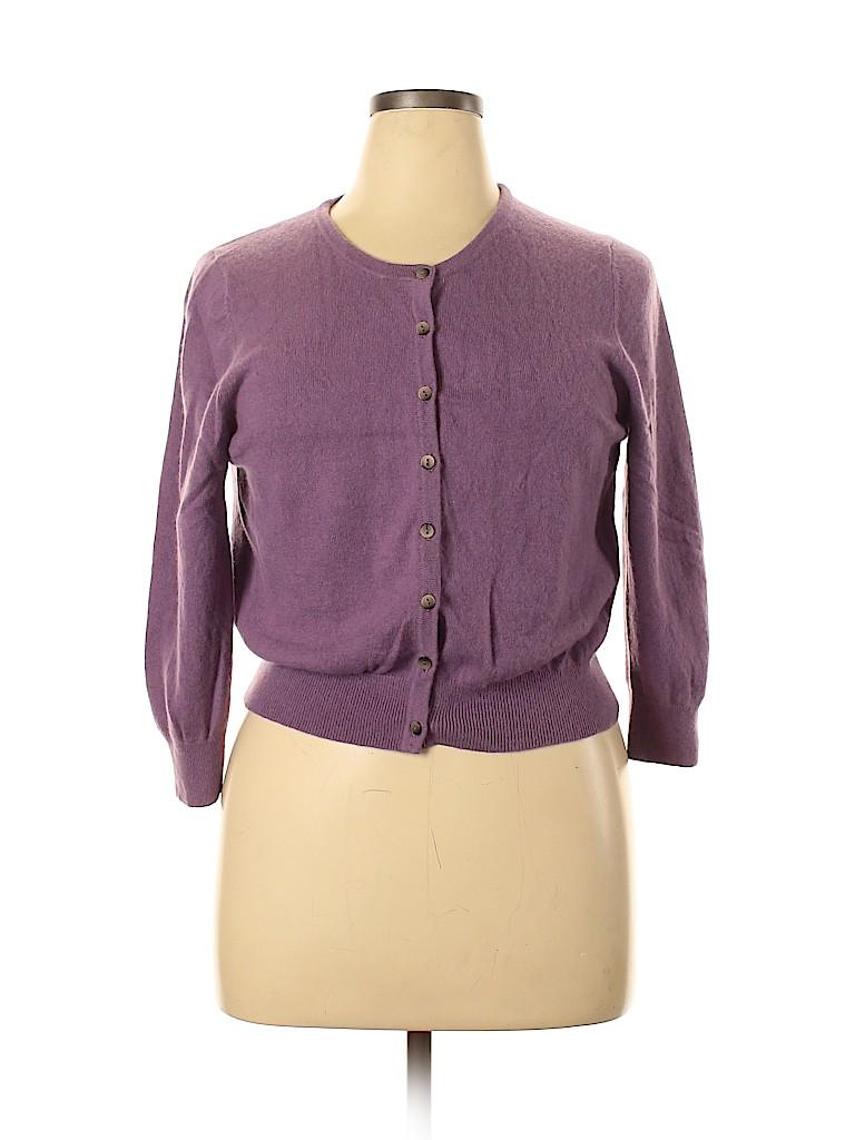 Boden Women Cashmere Cardigan Size 16