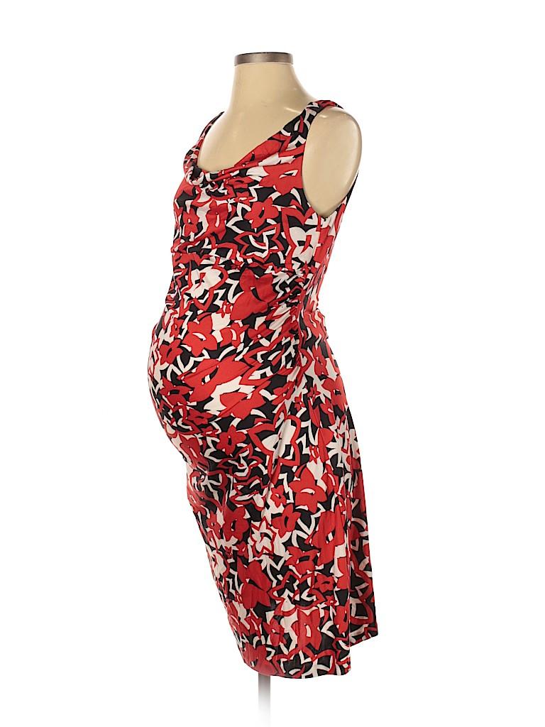 Diane von Furstenberg Women Casual Dress Size S (Maternity)
