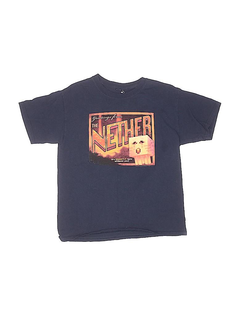 Mojang Boys Short Sleeve T-Shirt Size L (Youth)