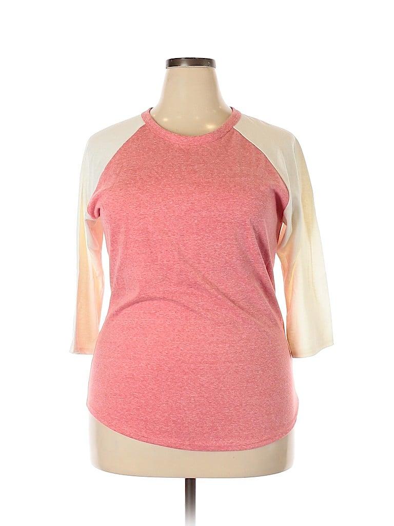 Lularoe Women 3/4 Sleeve T-Shirt Size 2X (Plus)