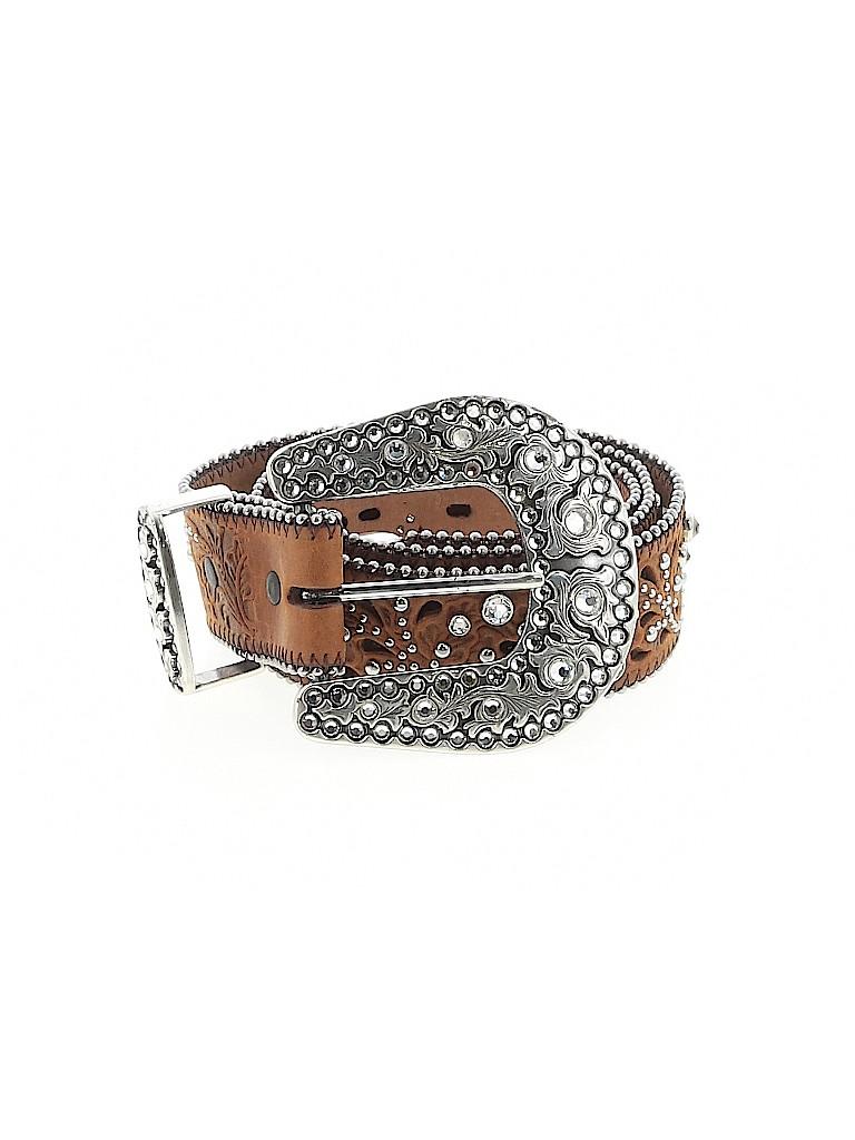 Justin Women Leather Belt 32 Waist