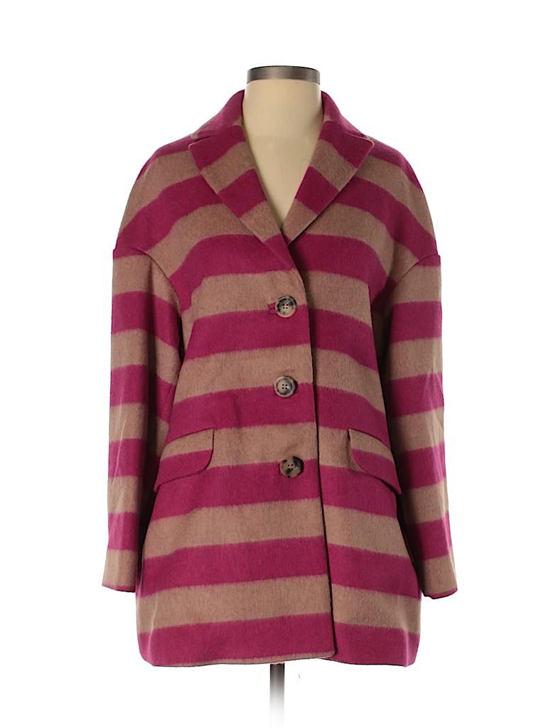 RED Valentino Women Wool Coat Size 40 (IT)