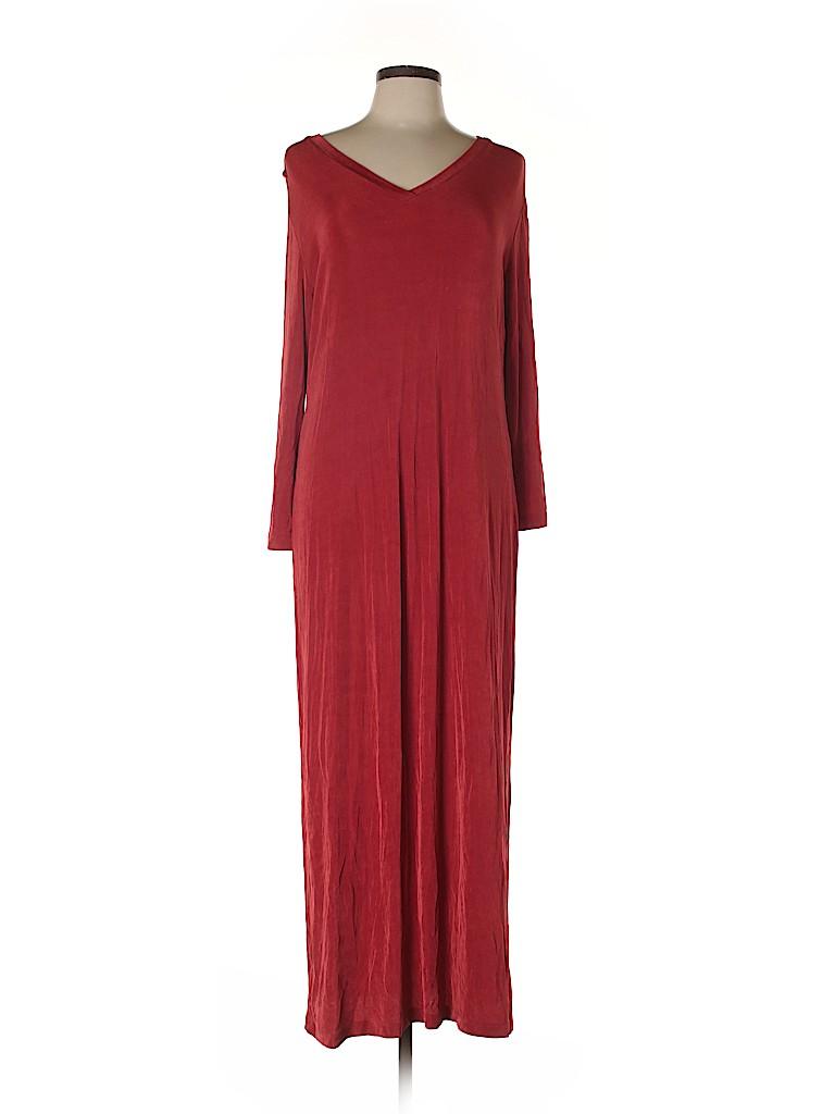 Slinky Brand Women Casual Dress Size L