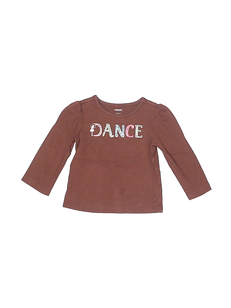Gymboree Girls 3/4 Sleeve T-Shirt Size 3