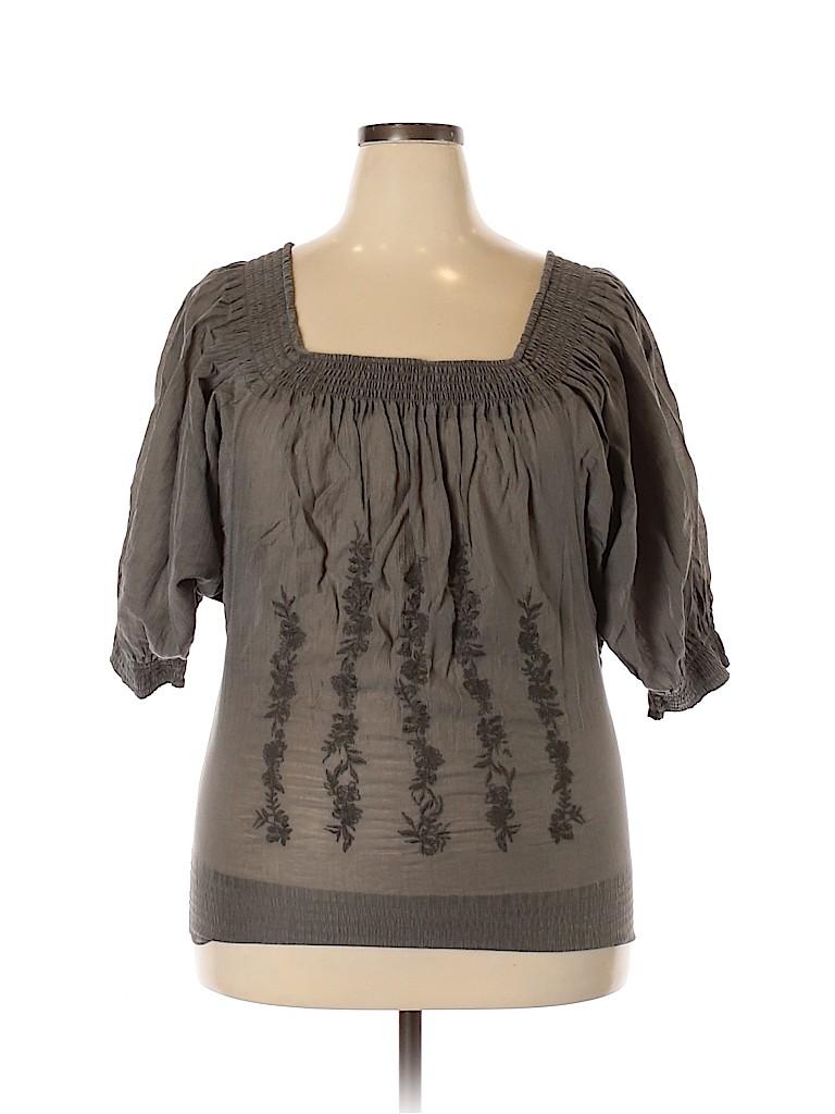 Tatuum Women 3/4 Sleeve Top Size 36 (Plus)
